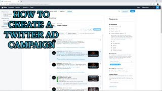 How to Create a Twitter Ad Campaign