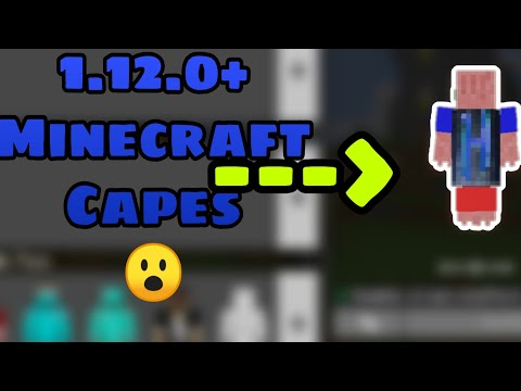 HOW TO GET CAPES IN MCPE! - Minecraft Pocket Edition / 1 12
