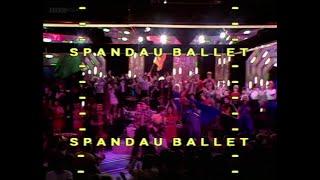 Spandau Ballet - Instinction (TOTP 1982)