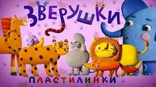 Пластилинки Зверушки 🐯 Все серии подряд  (1-5)  🦊 Премьера на канале Союзмультфильм 2019 HD