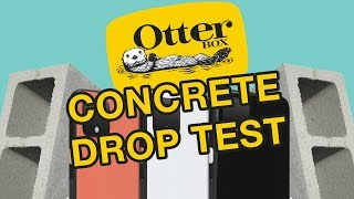 Otterbox Concrete Drop Test Google Pixel 4 XL | Defender Pro | Symmetry |Symmetry Stardust