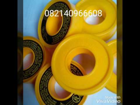 YELLOW Line Tape / Seal Tape Yellow Gas