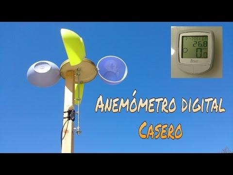 CÓMO HACER UN ANEMÓMETRO DIGITAL DE CAZOLETAS