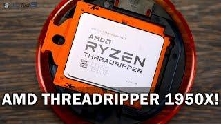 AMD Ryzen Threadripper 1950X: Šestnáctijádrový trhač asfaltu! - AlzaTech #686