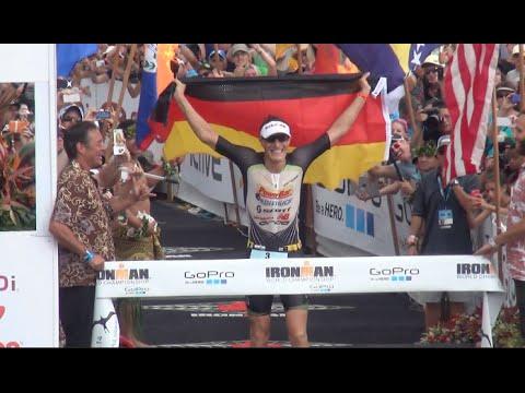 Sebastian Kienle Wins 2014 IRONMAN World Championship