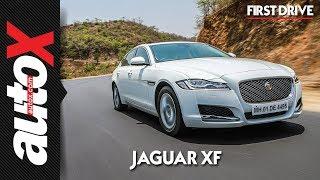Jaguar XF 20t First Drive Video Review