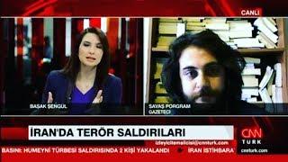 İran'da Meydana Gelen Terör Saldırılarını CNNTÜRK'e Değerlendirdim.