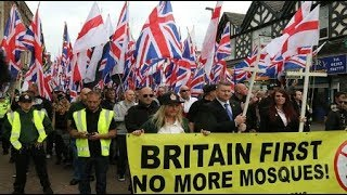 Britain First Jayda Fransen & Paul Golding reject UK ISLAMIC Sharia HATE Speech Law December 2017