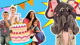 Loly & Falfool - Falfool's birthday surprise | لولي وفلفول - مفاجأة عيد فلفول