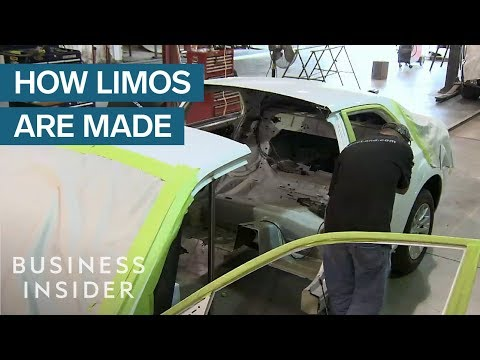 How Stretched Limousines are Made