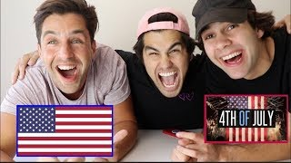 INSANE 4TH OF JULY TRIVIA WITH PUNISHMENTS (PAINFUL) FT DAVID DOBRIK, TODDY SMITH, SCOTTY SIRE