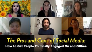 The Pros and Cons of Social Media: How to Get Politically Engaged | YR Media Young Voters Roundtable by POPSUGAR Girls' Guide