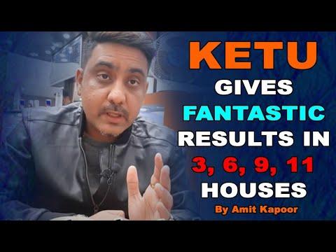 KETU GIVES FANTASTIC RESULTS IN 3, 6, 9, 11 HOUSES BY #ASTROLOGERAMITKAPOOR