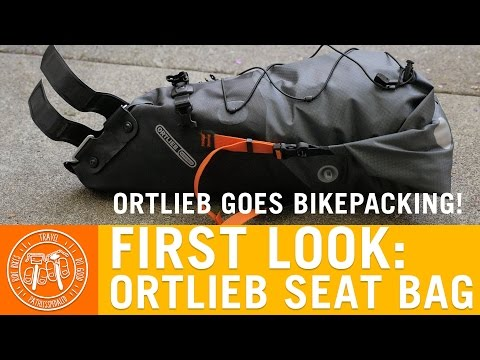 Ortlieb Bikepacking Seat Bag - PathLessPedaled.com