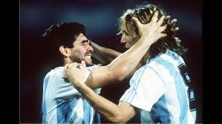 Homenaje A Diego Maradona Y Claudio Caniggia World Cup 86´90´95´