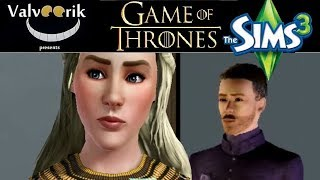 Game of Thrones Intro meets Sims 3