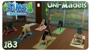 Auszeit im Wellnesscenter #183 Die Sims 4: Uni Mädels Elternfreuden - Let's Play