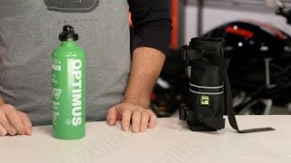 Wolfman Fuel Bottle & Holster Review At RevZilla.com