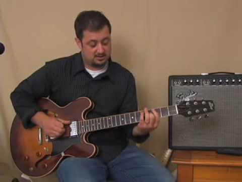 Triad Chords Guitar Lesson - E minor Barre Chord Derived