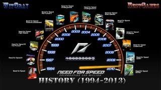 История серии Need for Speed (1994-2013) - Скоростная история.