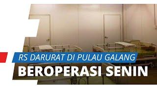 Jokowi Akui Ada Keterlambatan Operasional, RS Darurat di Pulau Galang Beroperasi Mulai Senin Depan