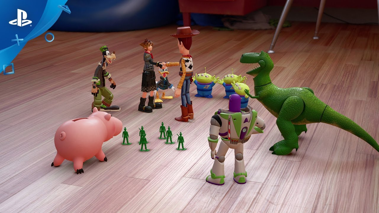 Toy Story chega a Kingdom Hearts