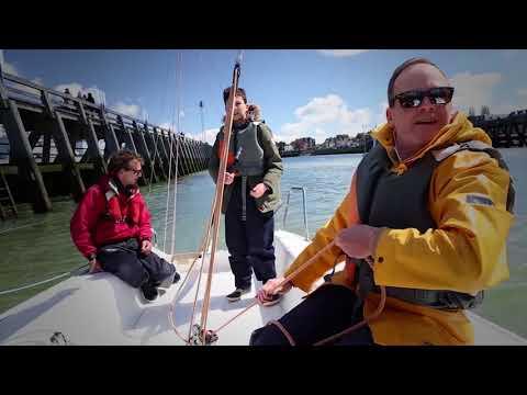Balade en voilier au départ de Deauville