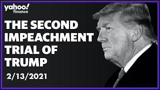 Trump's second impeachment trial: February 13, 2021 (Day 5): 57-43 vote acquits
