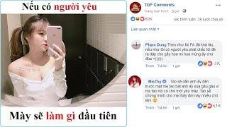 Top comment: Nếu Có Người Yêu Bạn Sẽ làm Gì? - MisThy hiên ngang ngồi Top 1 với bình luận bá đạo