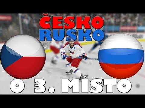 ČESKO - RUSKO | ZÁPAS O 3. MÍSTO | MS 2019 | NHL 19 | CZ/SK