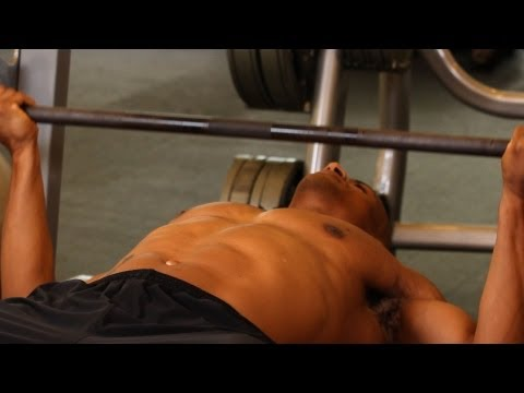 How to Do Wide Reverse Grip Bench Press | Chest Workout