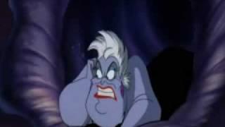 Ursula calls Ariel a slut (swedish)