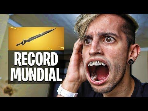 RECORD MUNDIAL DE KILLS CON LA ESPADA DE FORTNITE !! - Robleis