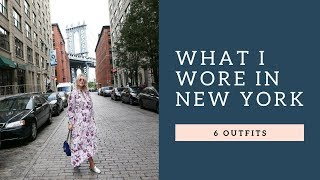 WHAT I WORE IN NYC - 6 OUTFITS FOR EARLY FALL I KAJA-MARIE