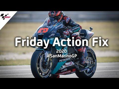 MotoGP サンマリノGP どのライダーが優勝してもおかしくない2020年MotoGPシーズン。気合の入ったフリー走行ハイライト動画【MotoGPを無料で楽しめる無料動画】