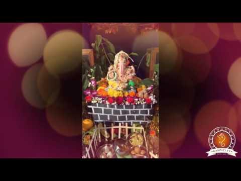 Akshay Kumthekar Home Ganpati Decoration Video