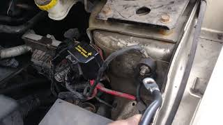 2010 Dodge journey..wont start ..solution ..just needs ground. Conection