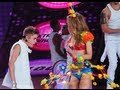 Justin Bieber Flirts With Victoria's Secret Models ...