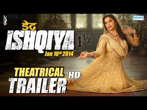 Dedh Ishqiya (Jan 2014) - Theatrical Trailer | Madhuri Dixit - Naseeruddin - Arshad Warsi - Huma