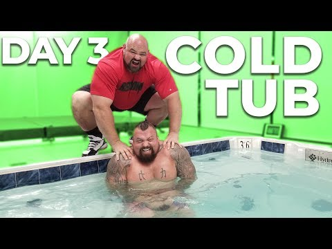 DAY 3 | WORLD'S STRONGEST MEN VS COLD TUB