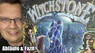 Witchstone (Huch!) - Kennerspiel ab 12 Jahren mit beliebten Mechanismen