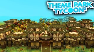 roblox theme park tycoon 2 how to build a castle entrance