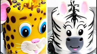Easy Birthday Animal Cakes | How To Make By Cakes StepbyStep