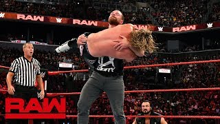 Dean Ambrose vs. Dolph Ziggler: Raw, Aug. 20, 2018