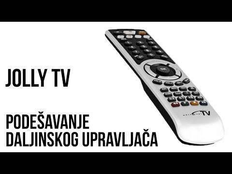 Jolly TV univerzalni daljinski za televizor - Podešavanje
