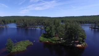 Tully Lake from Amelia the Drone