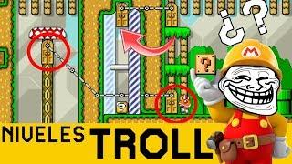 99% TROLL ¿PSICOLOGÍA INVERSA? - NIVELES TROLL #11 | Super Mario Maker - ZetaSSJ