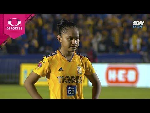 Serie de penales   Tigres 1 (1) - (3) 1 América   Gran Final - Liga MX Femenil   Televisa Deportes