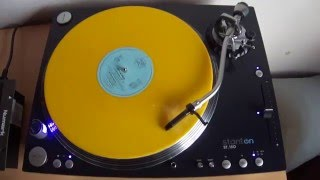 """Depeche Mode - A Question Of Lust (Flood Mix) 12"""" Germany Yellow Vinyl"""
