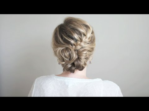 Half Braided Updo Tutorial: The Small Things Blog